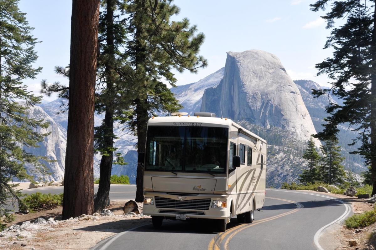 RV Camping in Yosemite National Park